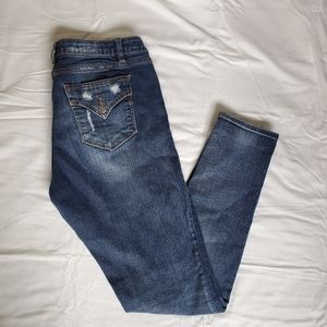 Miss Me Skinny Jeans with Rips